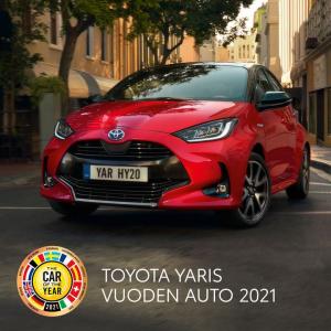Uusi Yaris Hybrid – ladattu positiivisella energialla.  Koe luokkansa taloudellisin hybridi tyylikkäämpänä kuin koskaan. Nauti i...