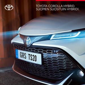 Toyota Corolla Hybrid on Suomen suosituin hybridi – eikä ihme.  Se on vaikuttava yhdistelmä kiihtyvyyttä, tehoa ja loistavaa aje...