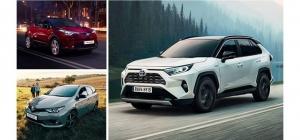 Koeajettavissa ja ensiesittelyssä täysin uusi RAV4 nyt meillä. Uudessa RAV4 Hybrid -mallissa yhdistyvät uuden aikakauden 218 hv:n hybridivoima ja luokkansa paras polttoainetaloudellisuus. Lisäksi vaikuttavasti varusteltuun C-HR Hybrid Edition -mallistoon talvirenkaat vain 990 €. Suomen suosituimman hybridin hyvin varusteltuun erikoismalliin Auris Hybrid Touring Sports Active Editioniin saat nyt metallivärin 0 € ja talvirenkaat hintaan 490 euroa. Kokonaisetusi on jopa 2 600 €. Tervetuloa koeajamaan Suomen laajin hybridimallisto viikonloppunäyttelyssämme lauantaina 12.1. klo 9-14 ja sunnuntaina klo 12-15.