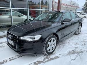 Erittäin siisti vaihtoauto Audi A6 2.0 TFSi 132 kW. Vuosimallia 2012 ja ajettu 135 tkm. Suomi-auto, täydellinen huoltokirja ja viimeisin huolto tehty Audi-liikkeessä 11/2018 ja 130 tkm:n kohdalla. Hintaa tällä tilavalla ja hyvin varustellulla autolla on 19.900 euroa.